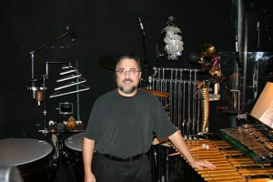 Rick in the  pit  for Wicked at Ovens Auditorium in Charlotte 2008